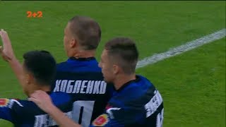 Динамо - Черноморец - 0:1. Гол: Хобленко (13