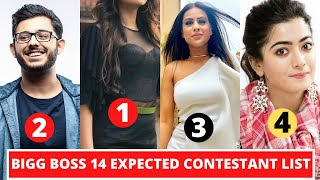 New List Of All Expected Contestants Of Bigg Boss Season 14 - 2020