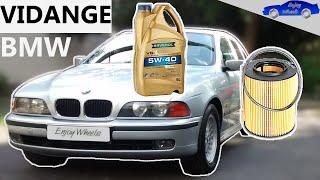Vidange BMW serie 5 E39 520i 523i 528i / serie 3 E36 320i 323i 328i / serie 7 E38 728i