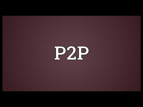 P2p meaning dating
