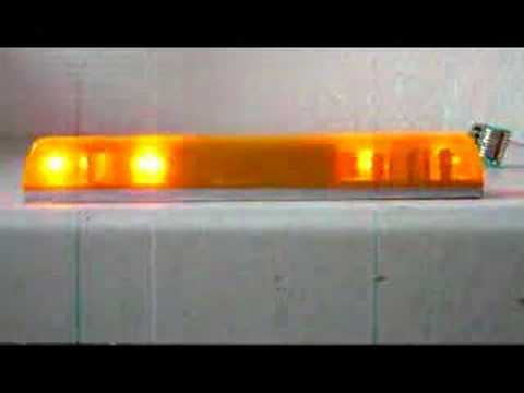 Warning light bar in scale 116 for tamiya rc trucks youtube aloadofball Image collections