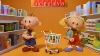 Iceland - The 'Only Frozen' Myth - Richard Briers  - Animated Advert (1999)