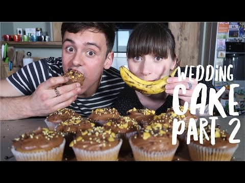 Banana and Chocolate Chip Cupcakes with Cupcake Jemma | Wedding Cake Ep 2 I Tom Daley