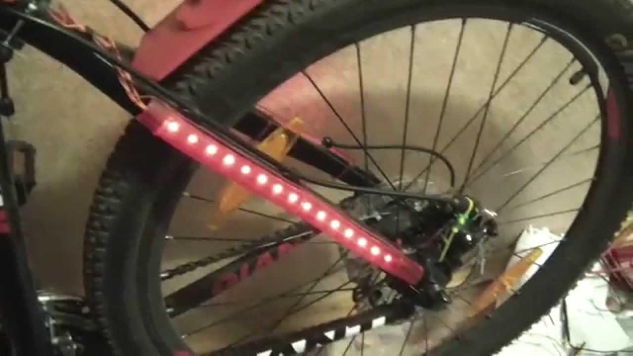 Посылка №127. Фонарь задний для велосипеда (Aliexpress) - YouTube