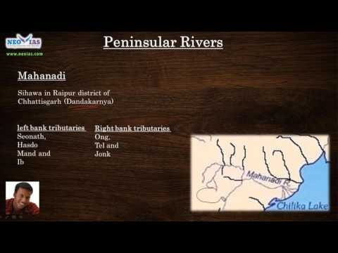 Peninsular River Systems   Indian Rivers  for UPSC   Indian Geography