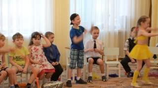 танец Хула хуп подготовит  группа Пчелка