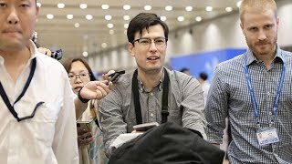 Detained Australian student Alek Sigley released from North Korea