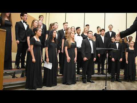 Chisholm Trail Academy Choir sings Battle Hymn of the Republic