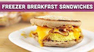 Breakfast Egg Sandwich, Healthy Recipe - Mind Over Munch