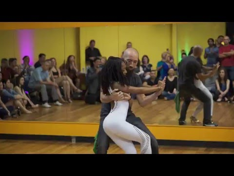 Beyoncé - Halo - Atoro & Firefly - Zouk Improvisation at Dancing4Fun Dance Studio