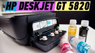 HP DESKJET GT 5820: ПЕЧАТАЕМ ЭКОНОМНО