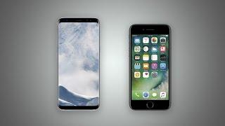 เอาแล่วๆๆๆ!!! iPhone 7 มีประสิทธิภาพโดยรวมและการใช้งานดีกว่า Samsung Galaxy S8 จากการใช้จริง