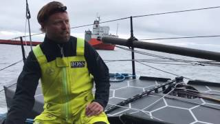 Fastnet Race day 2 update onboard HUGO BOSS