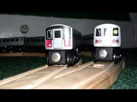 My Munipals Wooden Train Layout