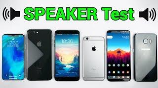 iPhone X - SPEAKER TEST!