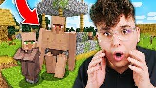 ZNALAZŁEM NIETYPOWĄ WIOSKĘ VILLAGERÓW!! | Minecraft XD #3