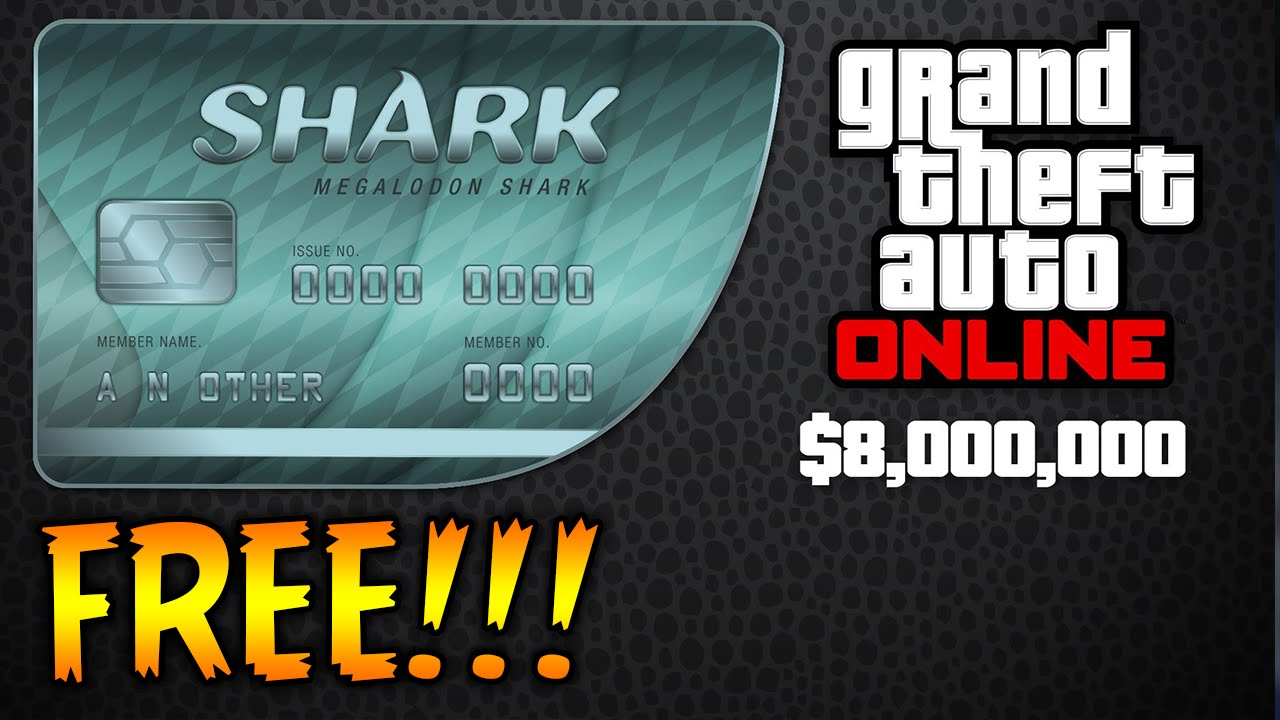 HOW TO GET SHARK CARDS FOR FREE IN GTA 5! (GTA 5 ONLINE) - YouTube