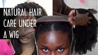 HOW TO: Hair Care Treatment Under  Wigs