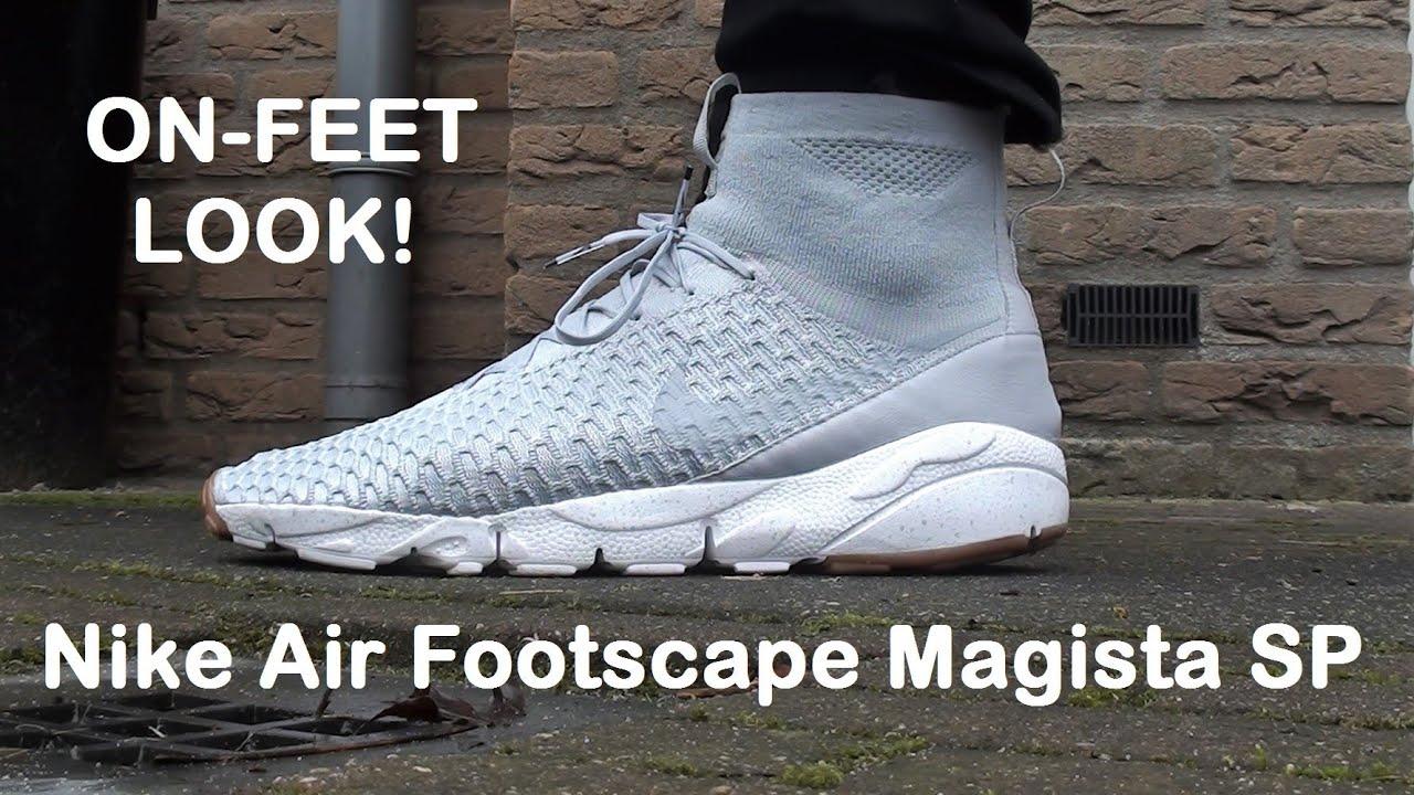 cheaper 522c4 01840 ON FEET  Nike Air Footscape Magista SP  Wolf Grey