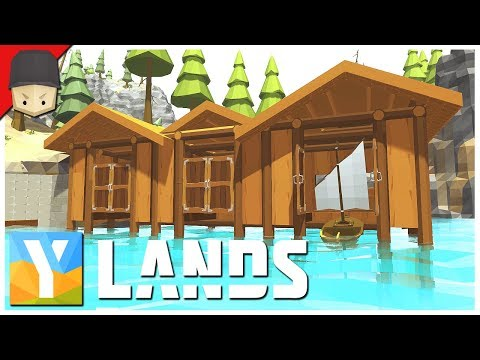 YLANDS - Boat House & The Dock! : Ep.14 (Survival/Crafting/Exploration/Sandbox Game)