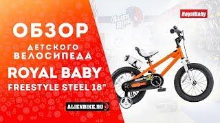 детский велосипед Royal Baby Freestyle Steel 12 обзор