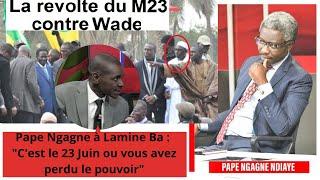"""Pape Ngagne à Lamine Ba (PDS) : """"C'est le 23 Juin ou vous avez perdu le pouvoir"""""""