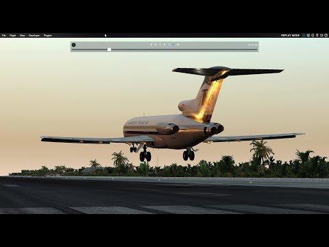 In the Tropics: FJS 727 Nauru to Kiribati to Fitiuta