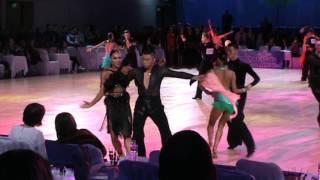 Baixar WDSF Open Latin 1/8 cha cha Sergey Erushov - Victoria Esatia