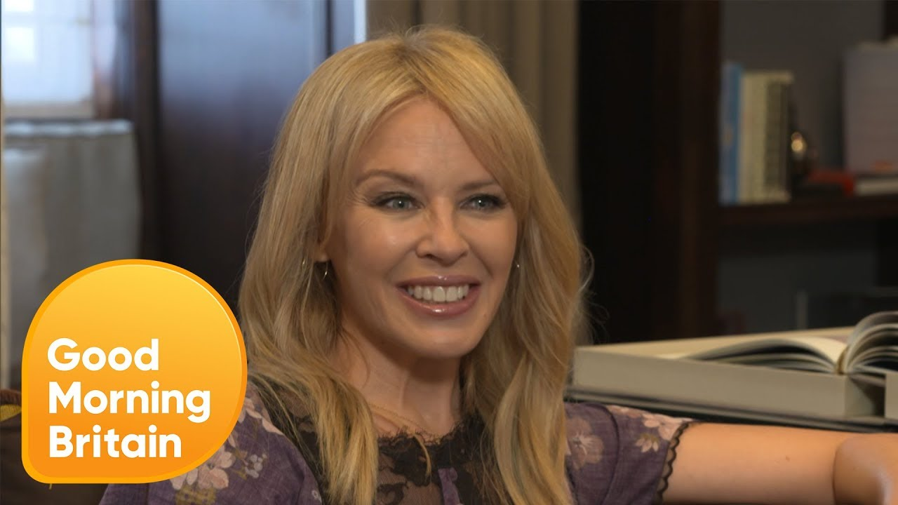 Kylie Minogue Would Love to Be Able to Work With Dolly Parton | Good Morning Britain
