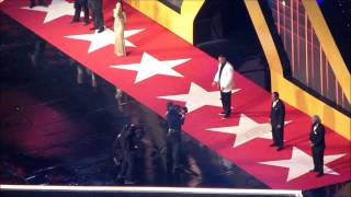 The 2014 WWE Hall of Fame class introduced at WrestleMania XXX