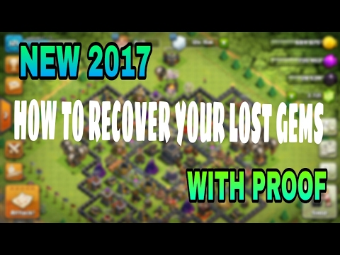 HOW TO RECOVER YOUR LOST GEMS??? EXPLAINED!!! With Proof