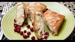 Рецепт - Вкусные и нежные блинчики с творожной начинкой