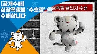 평창의 '심장폭행범' 수호랑 공개수배/비디오머그 평창