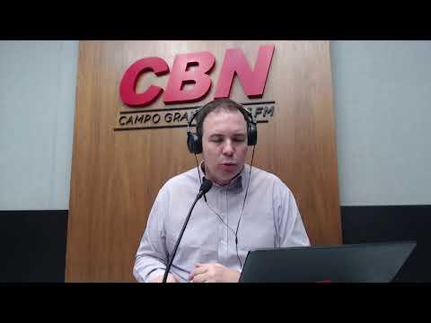 CBN Campo Grande (03/08/2020) - com Ginez Cesar
