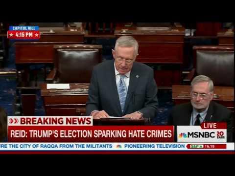 Harry Reid speaks on GOP and Trump
