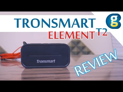 Tronsmart Element T2 Bluetooth 4.2 Outdoor Water Resistant Speaker Preview