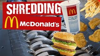 Shredding McDonalds - Shredding Stuff #12