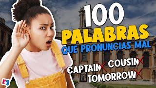 100 palabras que pronunciamos mal en inglés (100-91)