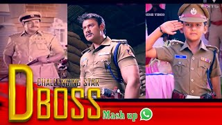 Darshan fansmash || Challenging star special || for watsapp status || PV edits