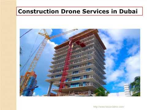 Construction Drone Services in Dubai, UAE | Falcon 3D
