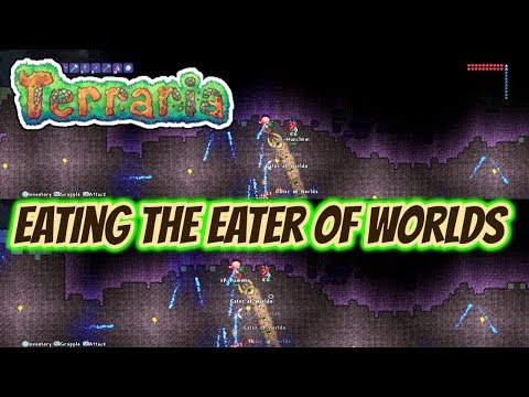 Terraria | Father And Son - Episode 3 - Eating The Eater Of Worlds