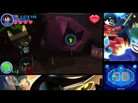 Lego Batman 2 Dc Super Heroes 3ds 100 Free Play Guide 14 The Final Battle Youtube