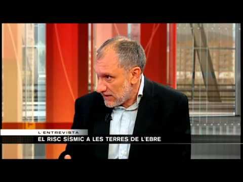 El risc sísmic a les comarques de l'Ebre. Joan Escuer, president col·legi geòlegs de Catalunya
