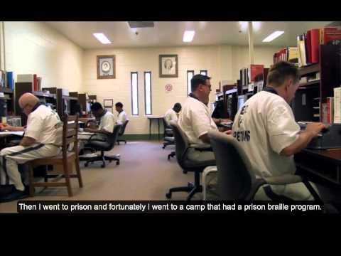Carey Jackson presenting at Mountain View Prison