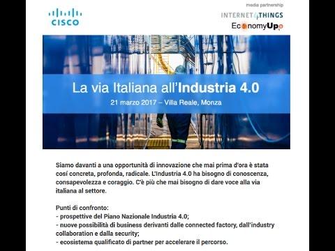 La via italiana all'Industria 4.0