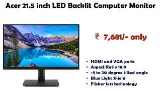 Acer 21 5 inch LED Backlit Computer Monitor ET221Q reviews