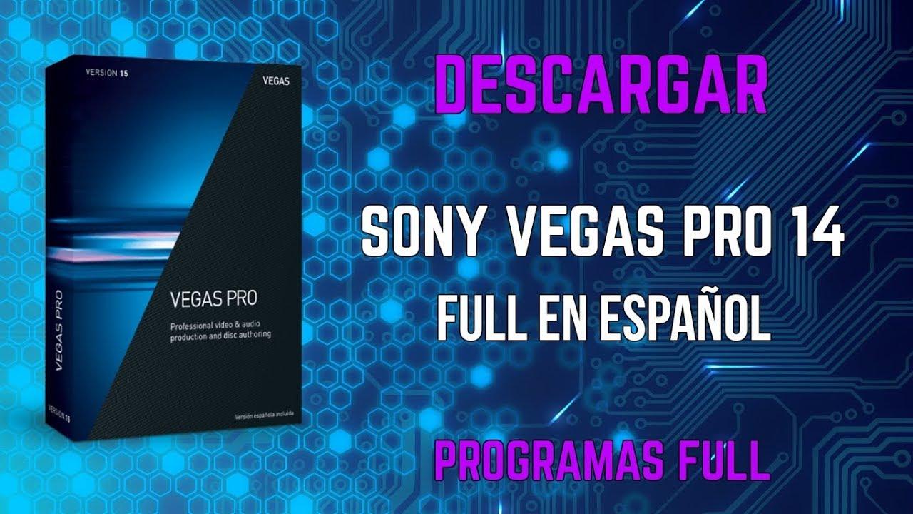 sony vegas pro 14 portable español
