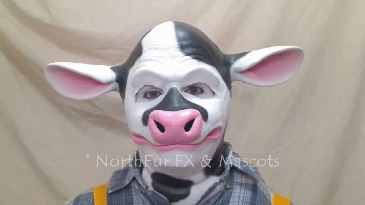 How To Make A Paper Cow Face