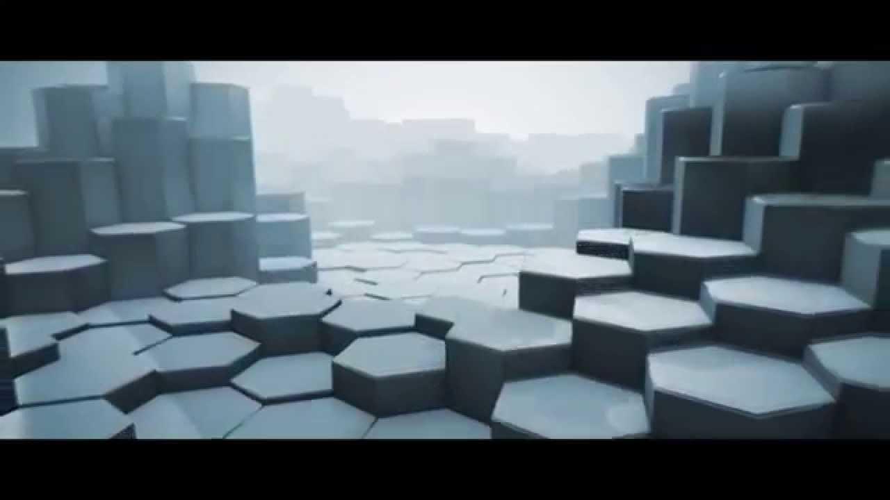 hexagon landscape  cinema 4d and element 3d v2