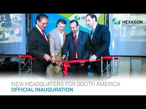 Hexagon Metrology's new Brazilian headquarters officially inaugurated